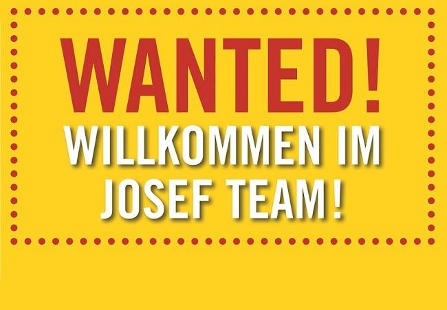 Willkommen im Josef Team!